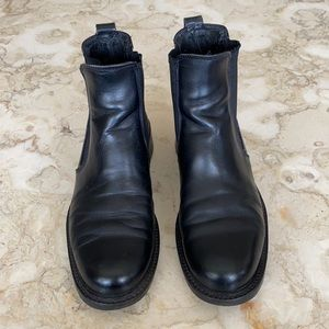 Roots Leather Chelsea Boots